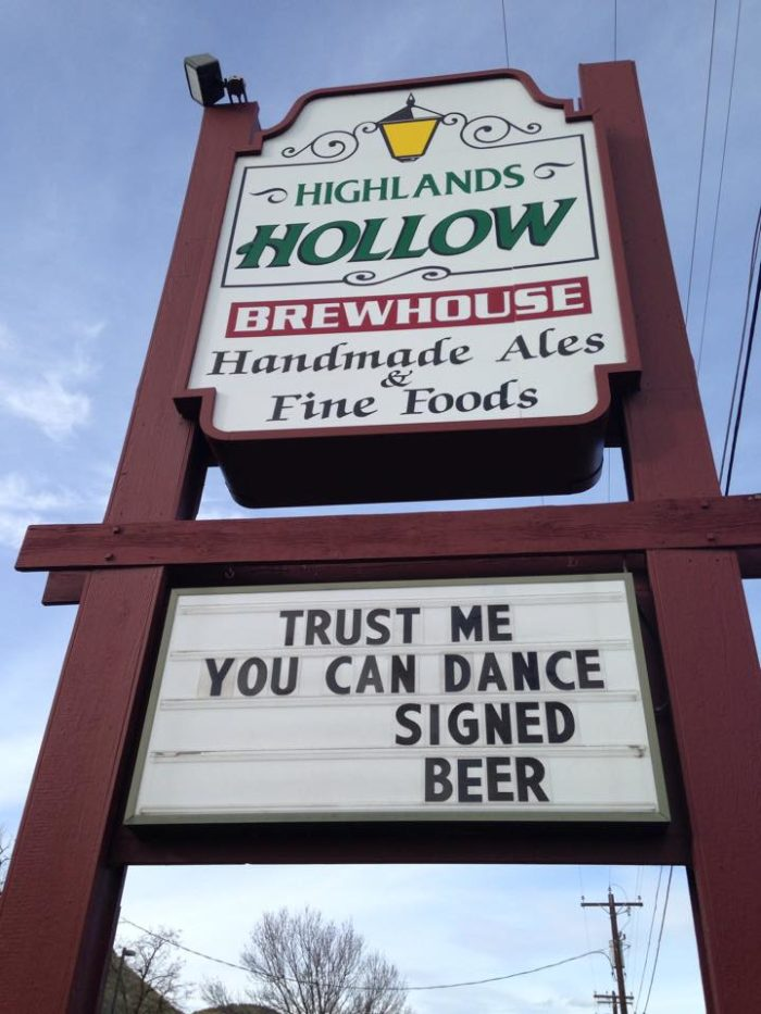 7. Highland Hollow Brewhouse