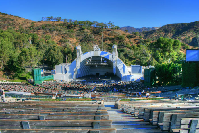 1. See a concert at Hollywood Bowl. There's something special about listening to live music out in the open air on a hot summer night. Bliss!