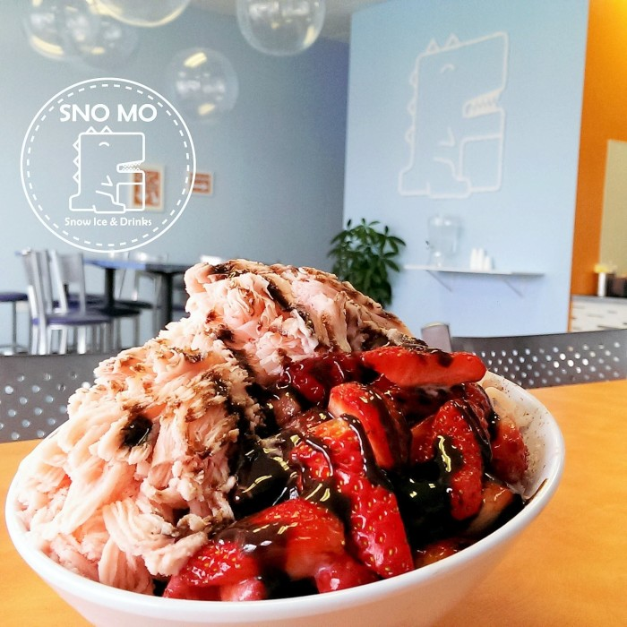 4. Snow Monster serves up monster-sized bowls of flavored shaved ice with all of the fixin's you can think of...Noms!