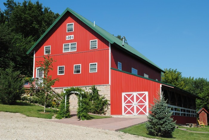 11. Stay overnight in one of Iowa's unique bed and breakfasts