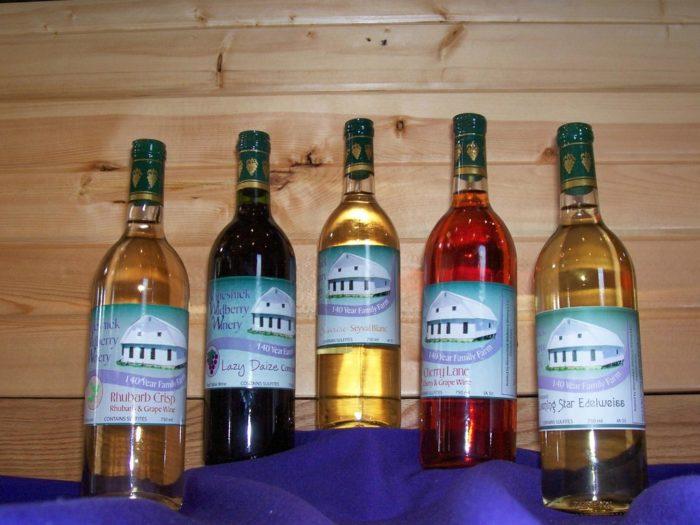 Sip some local wine at the Winneshiek Wildberry Winery.