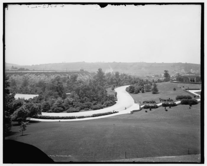 The Pittsburgh Zoo, circa 1910, first opened in 1898.