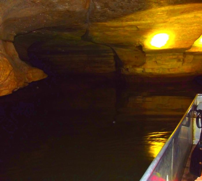 13) Twin Caves Boat Tour
