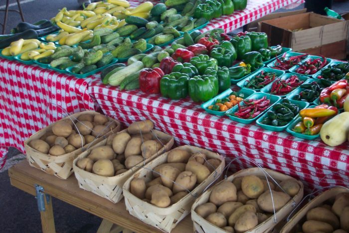 13. Check out a local Farmer's Market.