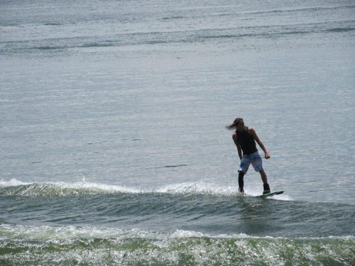 13. Wakeboarding, Monkey Island.