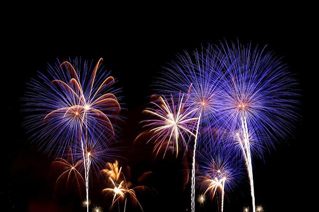 13. Watch some fireworks.