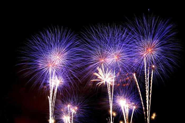 12. Fourth of July celebrations.