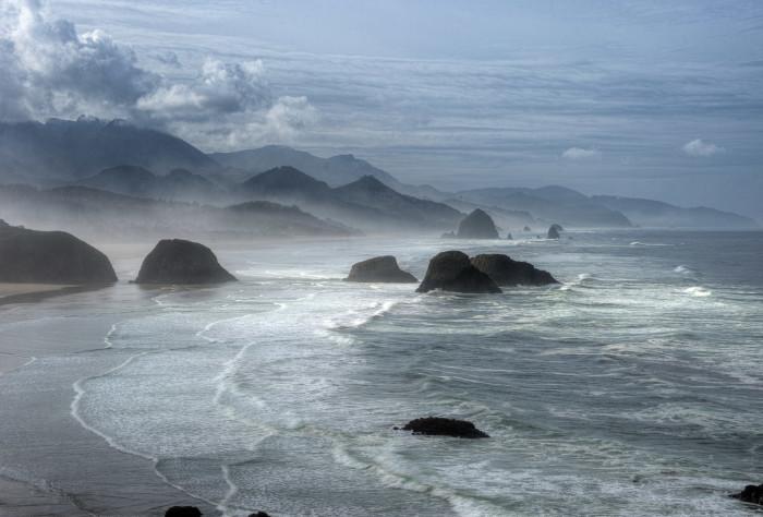 5. The majestic coastline