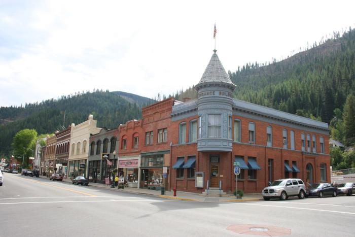 14. Wallace, Idaho