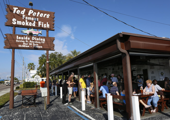 14. Smoked Fish (and dip) at Ted Peters