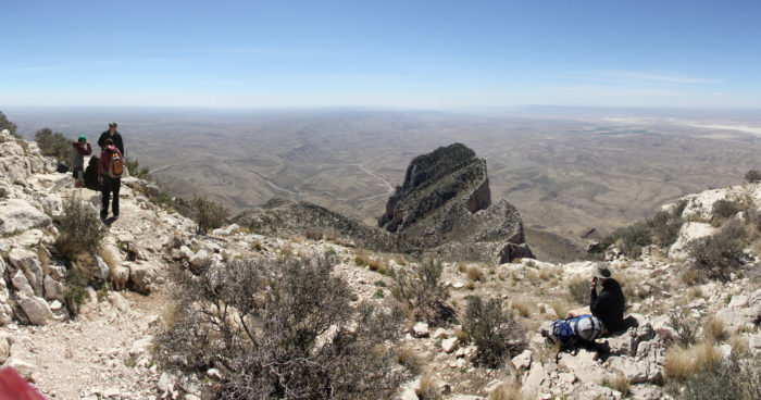 "2. ""El Capitan"" at the Guadalupe Mountains (Salt Flat)"