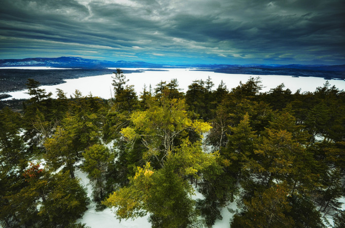 10. Rangeley, Maine