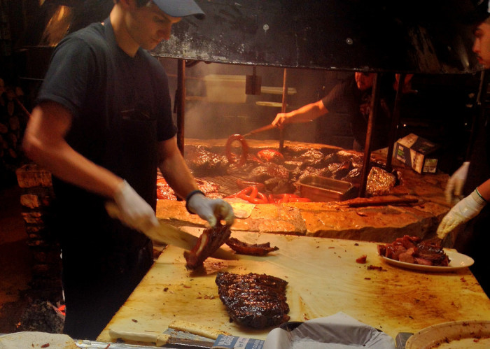 1. The Salt Lick is arguably one of the very best BBQ joints in Austin.