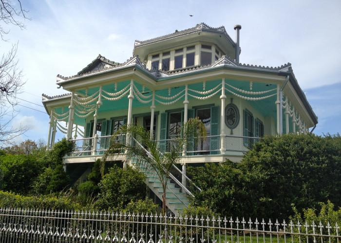 5. Steamboat Houses, 503 Egania St.