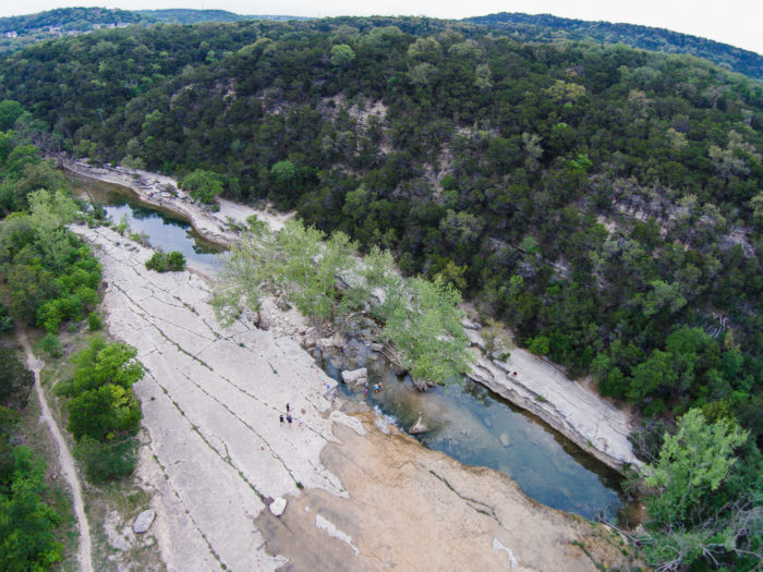 6. A peaceful view of The Greenbelt. There are tons of nature spots like this in Austin.