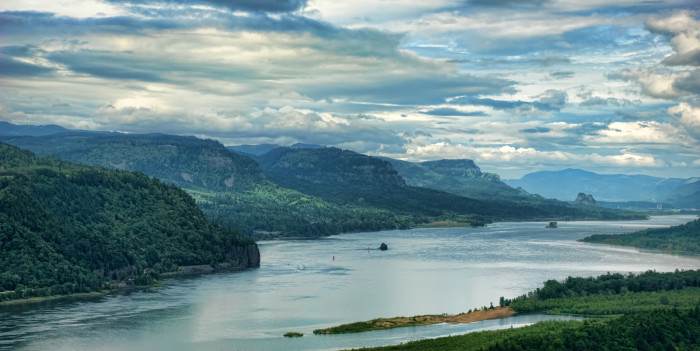 5. The Columbia River Gorge
