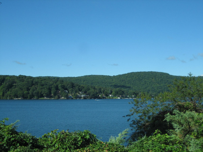 1. Candlewood Lake spills into both Fairfield and Litchfield County. At 8.4 square miles, it's the largest lake in Connecticut!