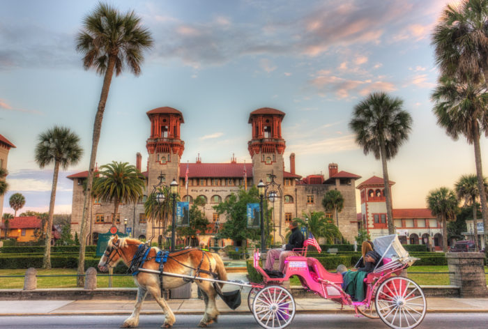 3. Take a trip to the nation's oldest city, St. Augustine.