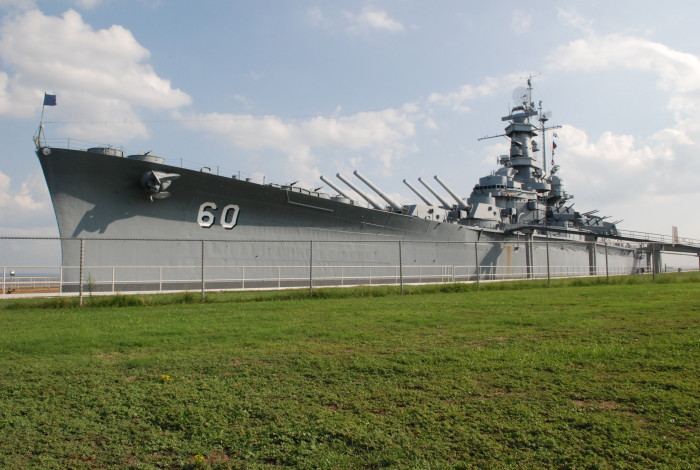 1. USS Alabama (BB-60) - Mobile, AL