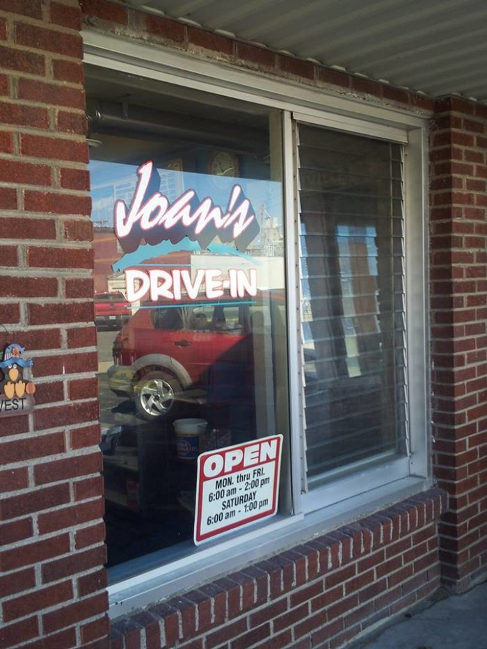 13.  Joan's Drive-In, Marshall
