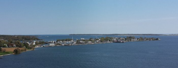 Which is not surprising, because this town is mostly surrounded by water. That's why it's also known as Solomon's Island.
