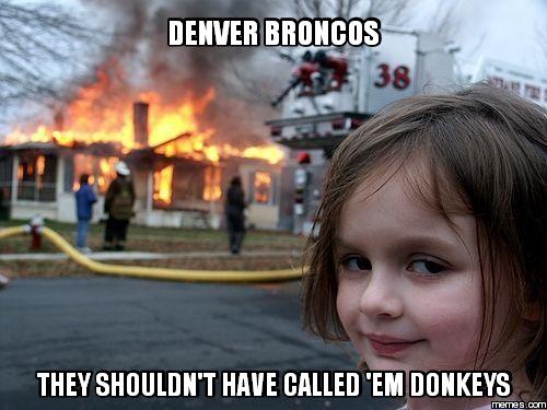 4.) NEVER call 'em Donkeys!