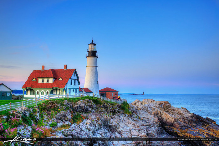 12. Our short coastline is awesome, but the Maine coastline is simply breathtaking.