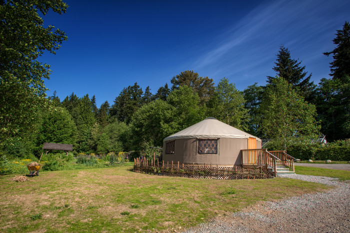 1. Yurts at High Falls State Park—76 High Falls Park Drive, Jackson, GA 30233