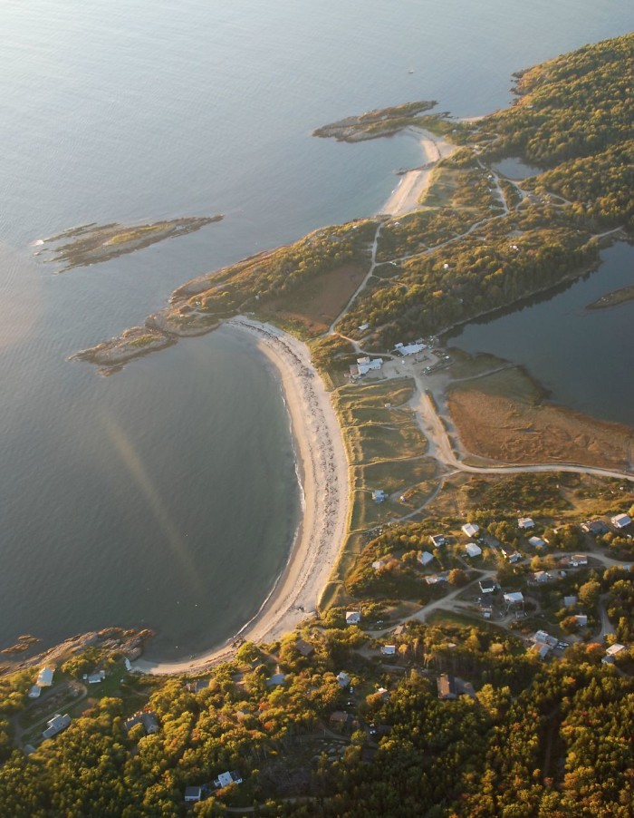 5. Hermit Island, Phippsburg, Sagadahoc County
