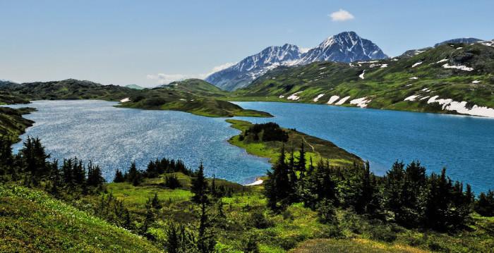 14. Lost Lake, Alaska