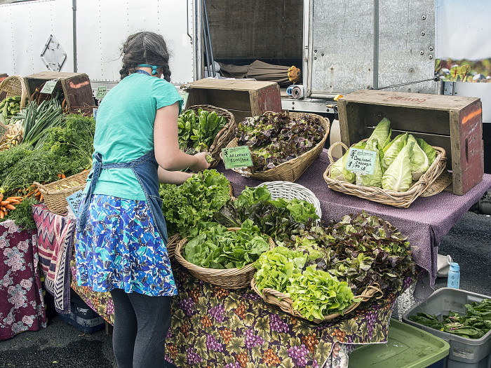 9. Newport Farmers Market