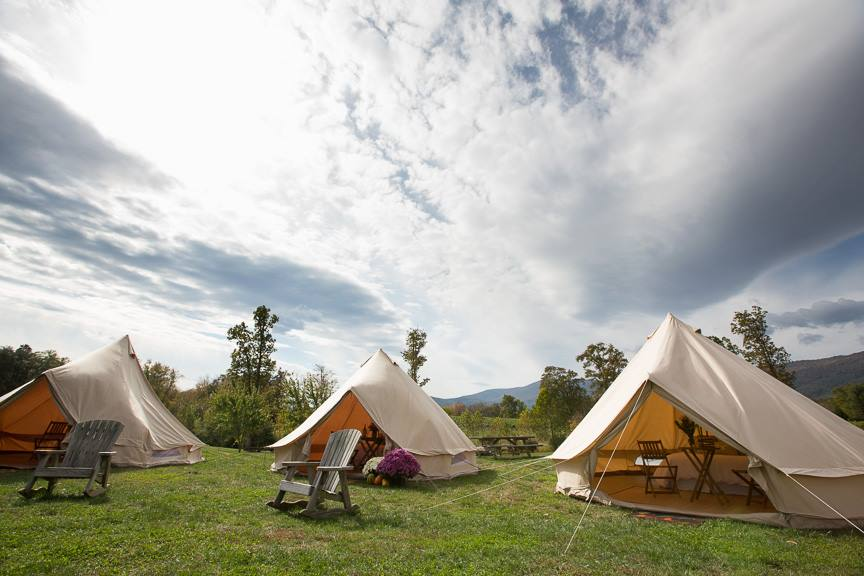6 Luxury Spots For Glamping In Virginia