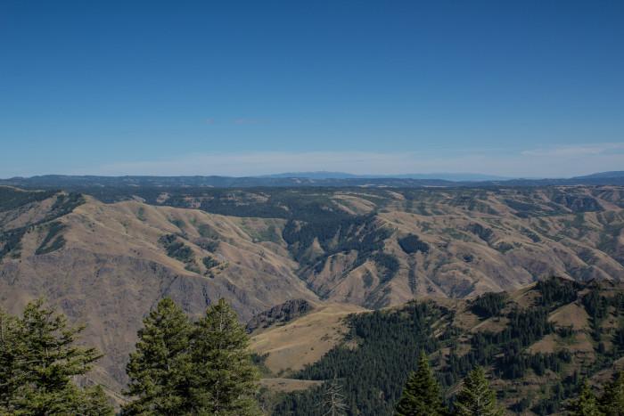 8. Hells Canyon Overlook