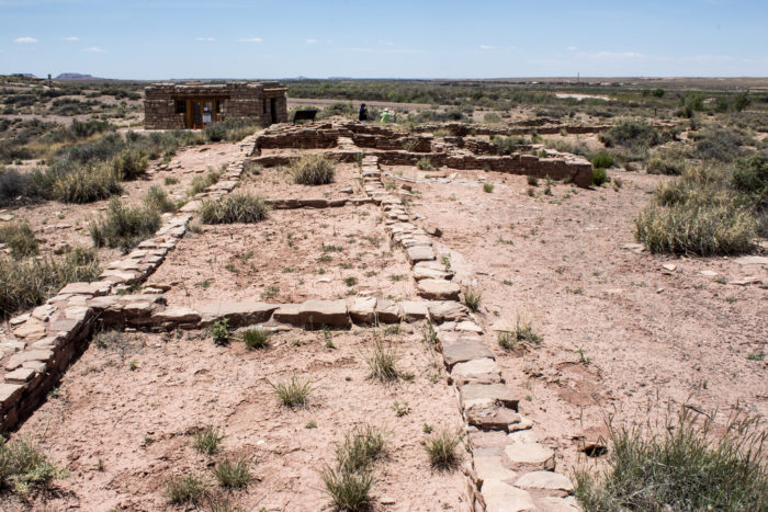5. Petrified National Forest is home to at least two centuries-old villages.