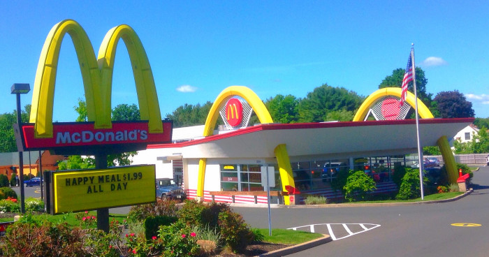 3.  No McDonalds in OUR capital!