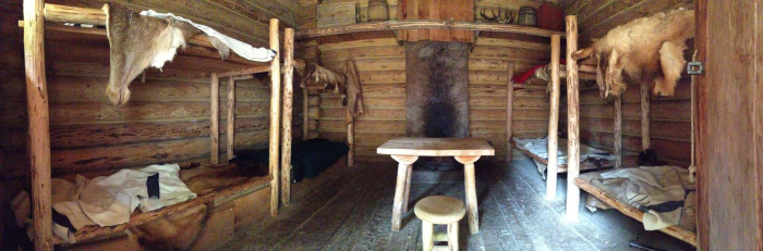 6. The Lewis and Clark National Historical Park at Fort Clatsop