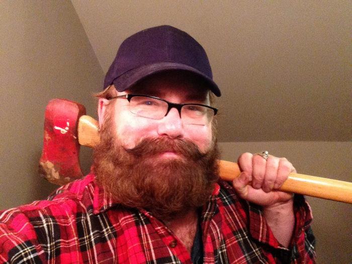 2. We often resemble lumberjacks.
