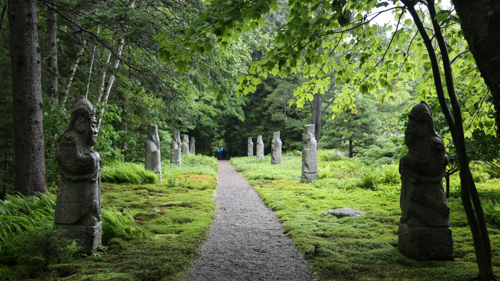 1. Reserve a spot in advance to visit the beautiful (but private) Abby Aldrich Rockefeller Garden in Seal Harbor.