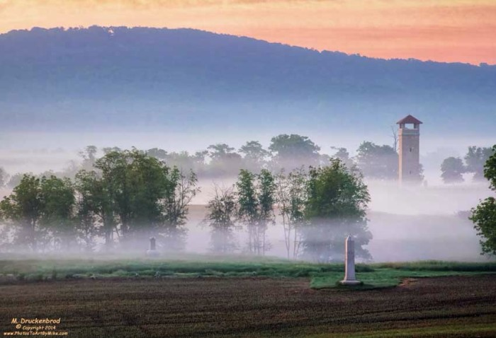 11. I can imagine ghostly apparitions in this scene at Antietam Battlefield.