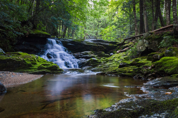 7. Large falls mean some smaller ones as well. Remember to explore everything on the Dunn Falls Loop near Baldpate Mountain.