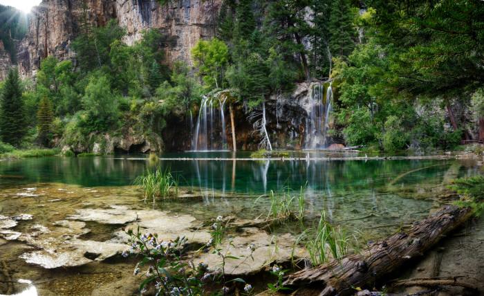 9. Hanging Lake and Spouting Rock Falls