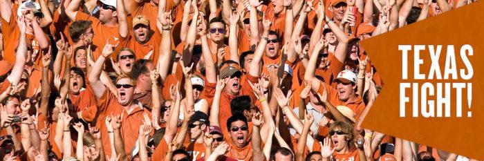 4. We bleed burnt orange...in honor of UT!