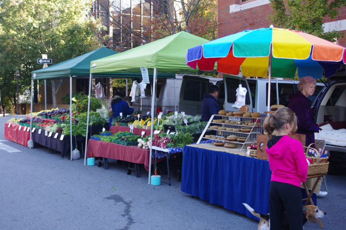 15.	The farmers market