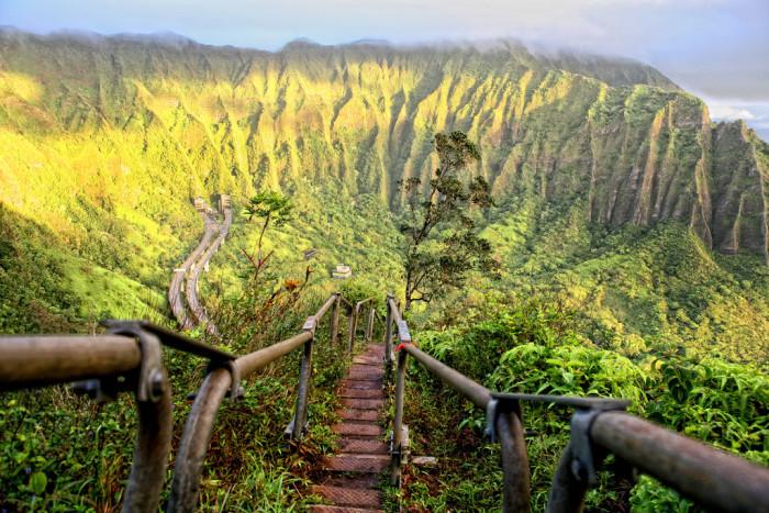 8. Stairway to Heaven, Oahu, Hawaii