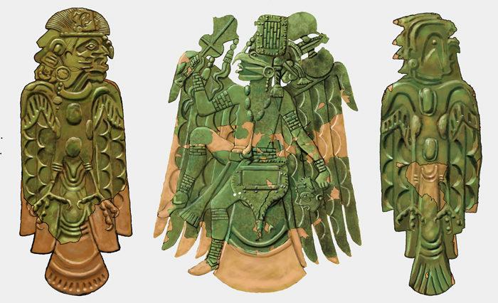 15.Cahokia Copper, left figure from Malden