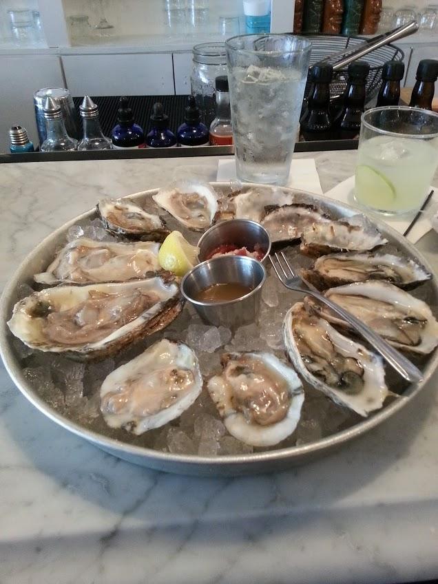 1. Rappahannock oysters