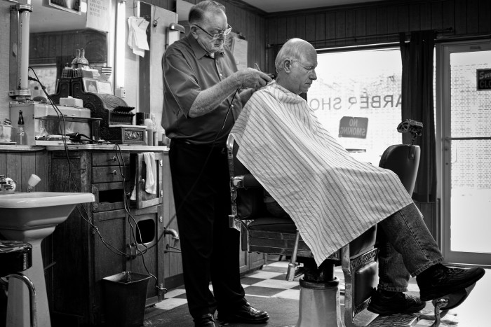 12.  The person who cuts your hair…