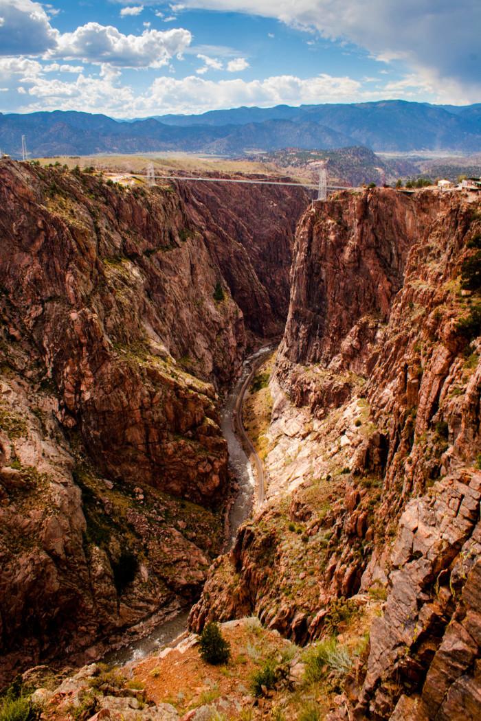 2. Royal Gorge Canyon, Colorado