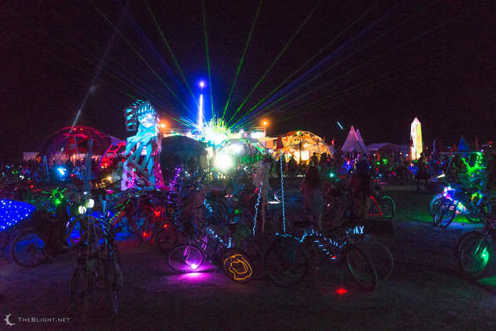 4. Attend the world-famous Burning Man.