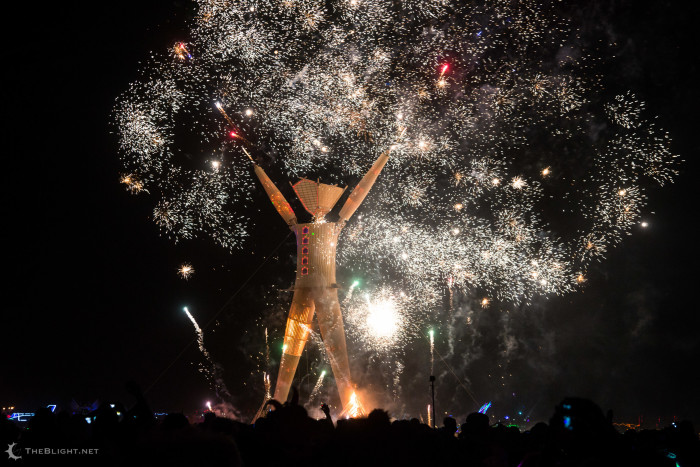 13. The annual Burning Man event takes place in Nevada's Black Rock Desert and attracts attendees from all over the world.